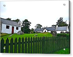 Acrylic Print featuring the photograph Donegal Home by Charlie and Norma Brock