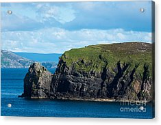 Donegal Seascape Acrylic Print by Andrew  Michael
