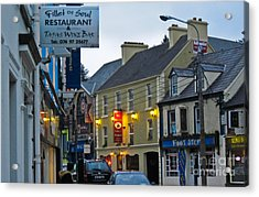 Donegal Town Acrylic Print by Black Sun Forge