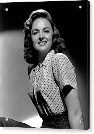 Donna Reed, 1944 Acrylic Print by Everett