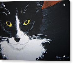 Acrylic Print featuring the painting Don't Bug Me by Norm Starks