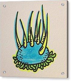 #doodle #drawing #art #design Acrylic Print