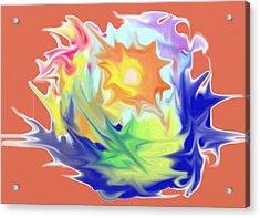 Doodle8 Acrylic Print