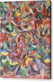 Doodlemania Acrylic Print