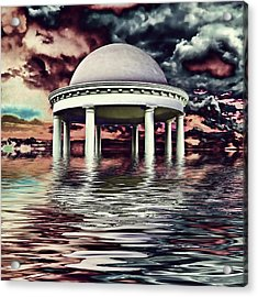 Doomsday Acrylic Print by Sharon Lisa Clarke