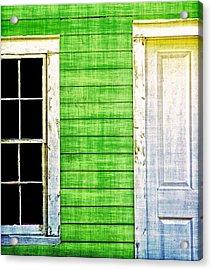 Door And Window Acrylic Print