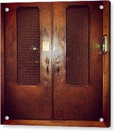 #door#photography#art#steampunk#prison Acrylic Print