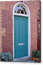 Doors 23 Acrylic Print by Emerald GreenForest