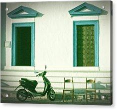Doors And Chairs Acrylic Print by Joana Kruse