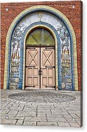 Doors Of Faith  Acrylic Print by Jerry Cordeiro
