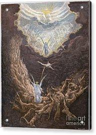 DorÉ: Last Judgment Acrylic Print by Granger