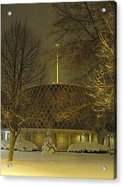 Acrylic Print featuring the photograph Dorcas Chapel by Tiffany Erdman
