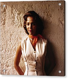 Dorothy Dandridge, 1957, Island In The Acrylic Print