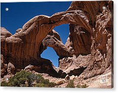 Double Arch Acrylic Print by Photo Researchers