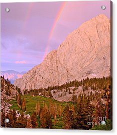 Double Rainbow Acrylic Print by Scott McGuire