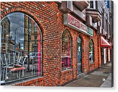 Acrylic Print featuring the photograph Dough Bois Pizza by Michael Frank Jr