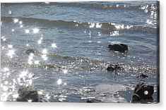 Down By The Water Acrylic Print by Lee Yang
