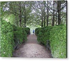 Down The Garden Path Acrylic Print