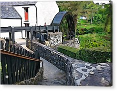 Acrylic Print featuring the photograph Down To The Mill by Charlie and Norma Brock