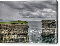 Downpatrick Head Lookout Tower Acrylic Print