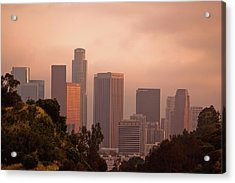 Downtown Los Angeles Acrylic Print by Andrew Kennelly