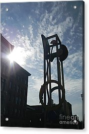 Acrylic Print featuring the photograph Downtown Louisville by Utopia Concepts