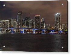 Downtown Miami 2012 Acrylic Print by Dan Vidal