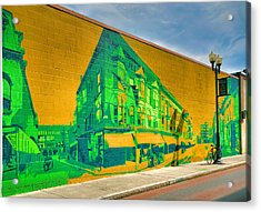 Downtown Mural IIi Acrylic Print by Steven Ainsworth