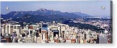 Downtown Seoul Skyline Acrylic Print by Jeremy Woodhouse