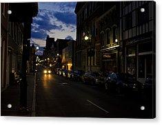 Downtown Staunton Virginia Zynodoa  Acrylic Print