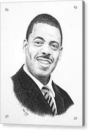 Dr. Kenny Baldwin Acrylic Print