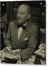 Dr. Otto Bettmann, A German Jewish Acrylic Print by Everett