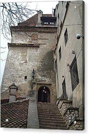 Dracula Castle Bran Transylvania Acrylic Print by Mircea Veleanu