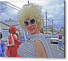 Drag Queen Supreme In New Orleans Acrylic Print