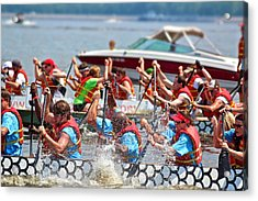 Acrylic Print featuring the photograph Dragon Boat Regatta 2 by Jim Albritton