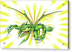 Dragon Acrylic Print by Brian Gibbs