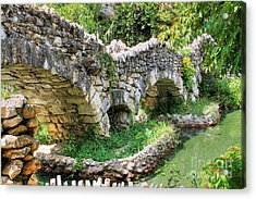 Dragon Bridge Acrylic Print