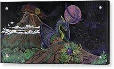 Dragon Dreamz Acrylic Print by Robin Hewitt