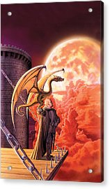 Dragon Lord Acrylic Print by The Dragon Chronicles - Robin Ko