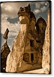 Pasabag Valley, Turkey - Dragon Rock Acrylic Print