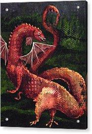 Dragon Time Acrylic Print