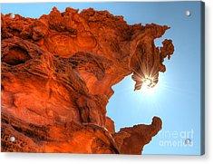 Dragons Breath Acrylic Print by Bob Christopher