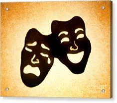 Drama Acrylic Print by Tony Cordoza