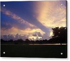Dramatic Sky Acrylic Print