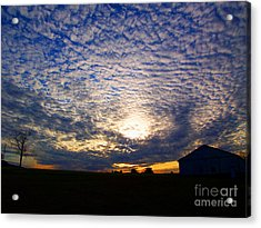 Dramatic Sunset Acrylic Print