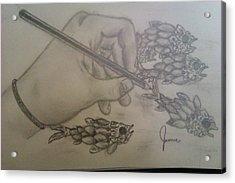 Drawing The Imagination Acrylic Print by Jamie Mah