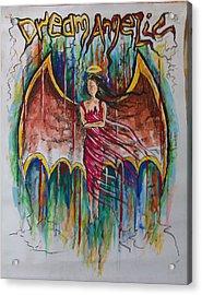 Dream Angelic Acrylic Print by Rohit Kumar