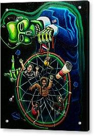 Dream Catcher Acrylic Print by Mario Chacon