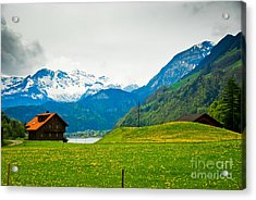 Dream Home Acrylic Print by Syed Aqueel