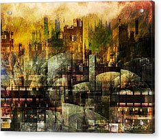 Dream In A Dream II Acrylic Print by Stefano Popovski